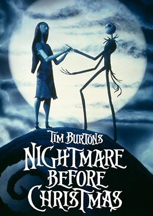 Poster des Films Tim Burton's Nightmare before Christmas